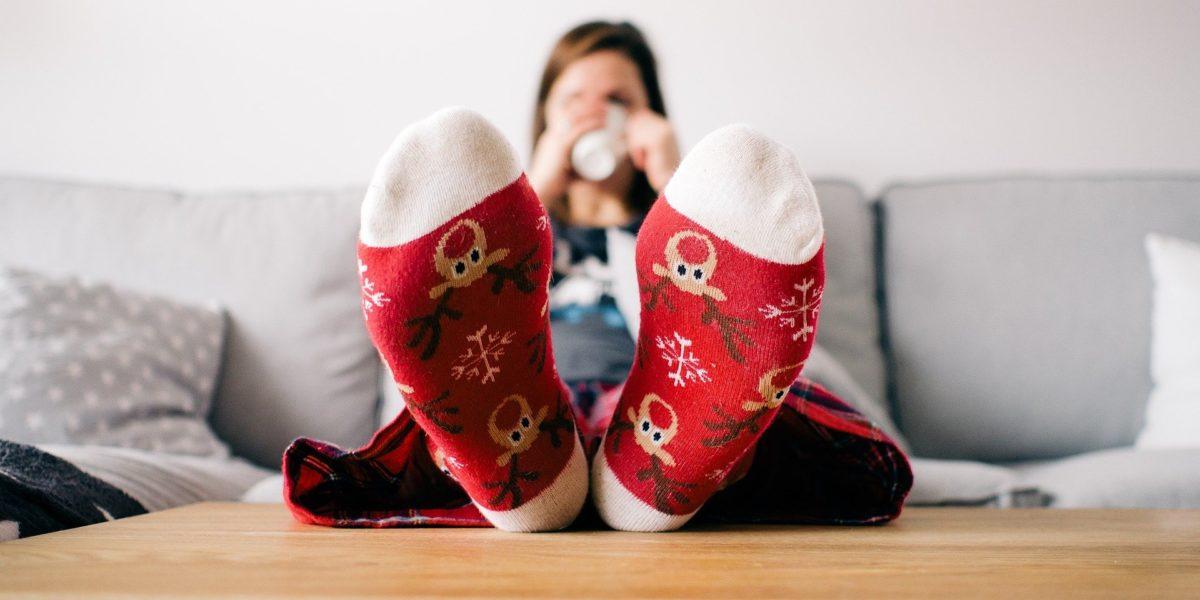 Коледа майндфулнес стрес