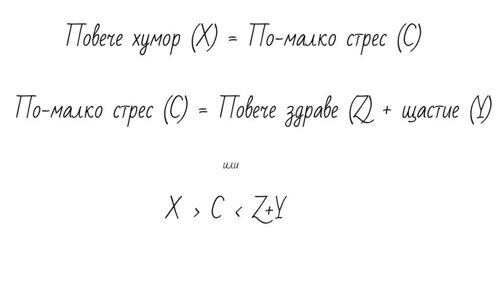 Формула Хумор щастие Здраве